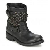 Chaussures ASH Titanic Noir Boots Femme à des Prix Raisonnables