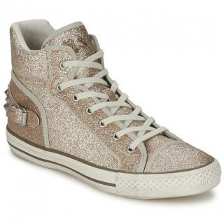Chaussures ASH Vertigo Doré Basket Montante Femme La Boutique en Ligne