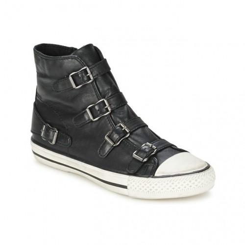 chaussures ash virgin noir basket montante femme vente chaude paris. Black Bedroom Furniture Sets. Home Design Ideas
