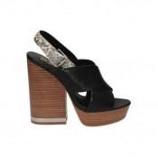 Collection Chaussures ASH Saga Diamante Noir Richelieu Femme Jusqu''à -65%