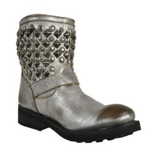Collection Chaussures ASH Titanic Argent Boots Femme Rabais en ligne