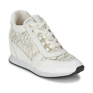En Ligne Chaussures ASH Dream Blanc Basket Basses Femme Réduction Prix