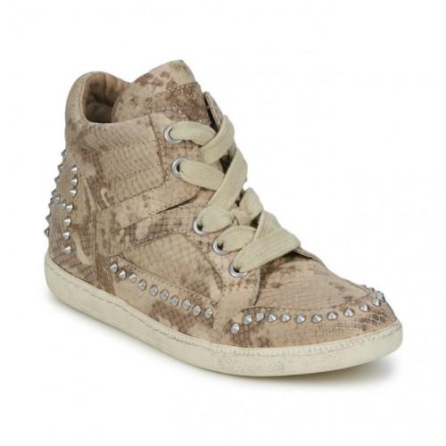 Ash ZEST beige - Livraison Gratuite avec  - Chaussures Basket montante Femme