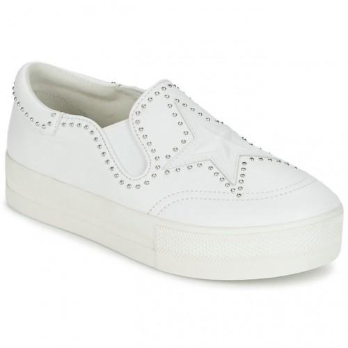 b79e09a5c48 La Nouvelle Chaussures ASH Jagger Blanc Slips On Femme Shop France