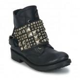 Le Nouveau Chaussures ASH River Noir Boots Femme Vendre à Bas Prix