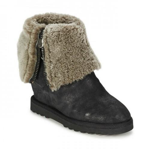 a17dd97c323516 Magasin Chaussures ASH Yorki Noir Bottines Femme France