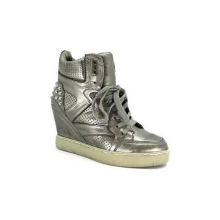 Nouveau Chaussures ASH Billie - Sportif Billie Plomo Basket Montante Femme Vendre Provence