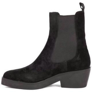 Nouvelle Chaussures ASH Bottes Shake Softy Noir Noir Bottines Femme Paris Vente En Ligne