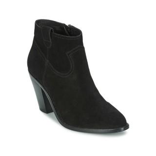 Nouvelle Chaussures ASH Ivana Noir Bottines Femme Pas Cher Lyon