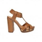 Nouvelle Chaussures ASH Tibet Marron Sandale Femme Réduction Prix