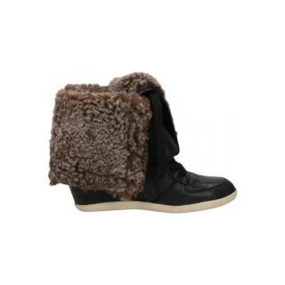 Nouvelles Chaussures ASH Agadie Noir Bottines Femme Prix En Gros