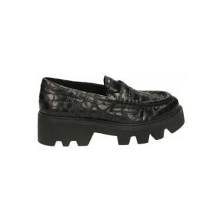 Nouvelles Chaussures ASH Agadie Noir Mocassins Femme Prix En Gros