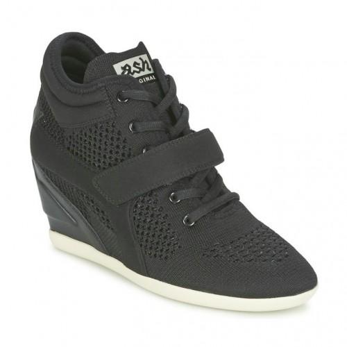 Officiel Chaussures ASH Beebop Noir Basket Montante Femme