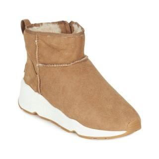 Officiel Chaussures ASH Miko Camel Boots Femme Faire un Rabais