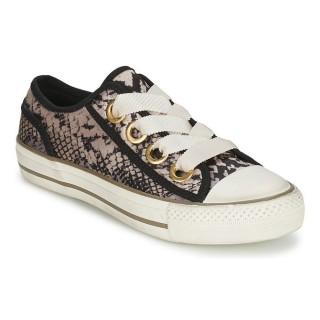 Officiel Chaussures ASH Vicky Python Basket Basses Femme Pas Cher