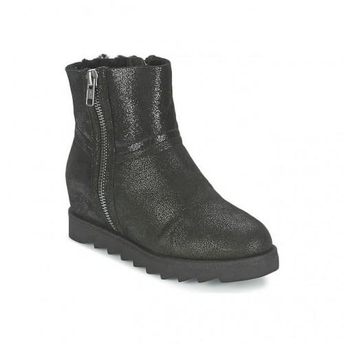 Paris Chaussures Ash Yang Femme Boots Promo Ligne Noir En BWrdCxQoe