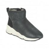 Prix Chaussures ASH Miko Noir Boots Femme Promotions En Ligne