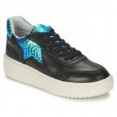Promo Chaussures ASH Fool Noir / Bleu Irisé Basket Basses Femme Pas Cher Lyon