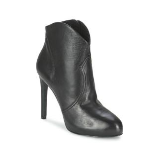Promotions Chaussures ASH Blog Noir Low Boots Femme France Métropolitaine