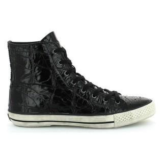 Promotions Chaussures ASH Vanilla Noir Basket Montante Femme Lyon en Ligne
