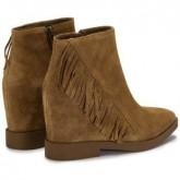 Remise Chaussures ASH Gossip Babysoft - Bottines Femme Marron Bottines En Ligne