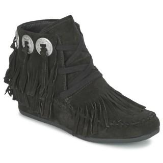Site Officiel Chaussures ASH Shadow Noir Bottines Femme la Vente à Bas Prix