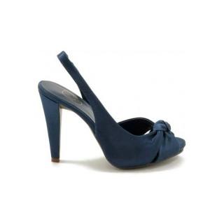 Soldes Chaussures ASH 6690 Tea B10 Bleu Richelieu Femme Remise prix