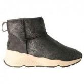 Soldes Chaussures ASH Miko Gris Gris Bottines Femme Promo Prix Paris