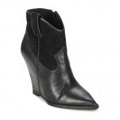 Vente Nouveau Chaussures ASH Jude Noir Bottines Femme France