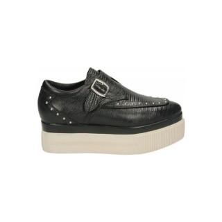 Vente Nouveau Chaussures ASH Konnie Tejus Donez Noir Derbies Femme France