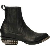 Vente Nouveau Chaussures ASH Tenessee-001 Noir Bottines Femme Prix Moins Cher