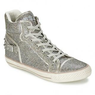 Vente Nouveau Chaussures ASH Vertigo Gris Basket Montante Femme Prix Moins Cher